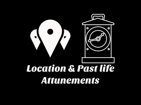 Location Reiki & Past life Reiki Attunements