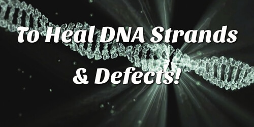 the ability to heal DNA strands and defects!